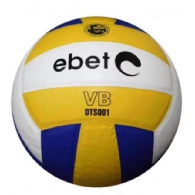 (CHÍNH HÃNG) Bóng chuyền Động Lực Ebete DTS 001 + Tặng kim bơm bóng