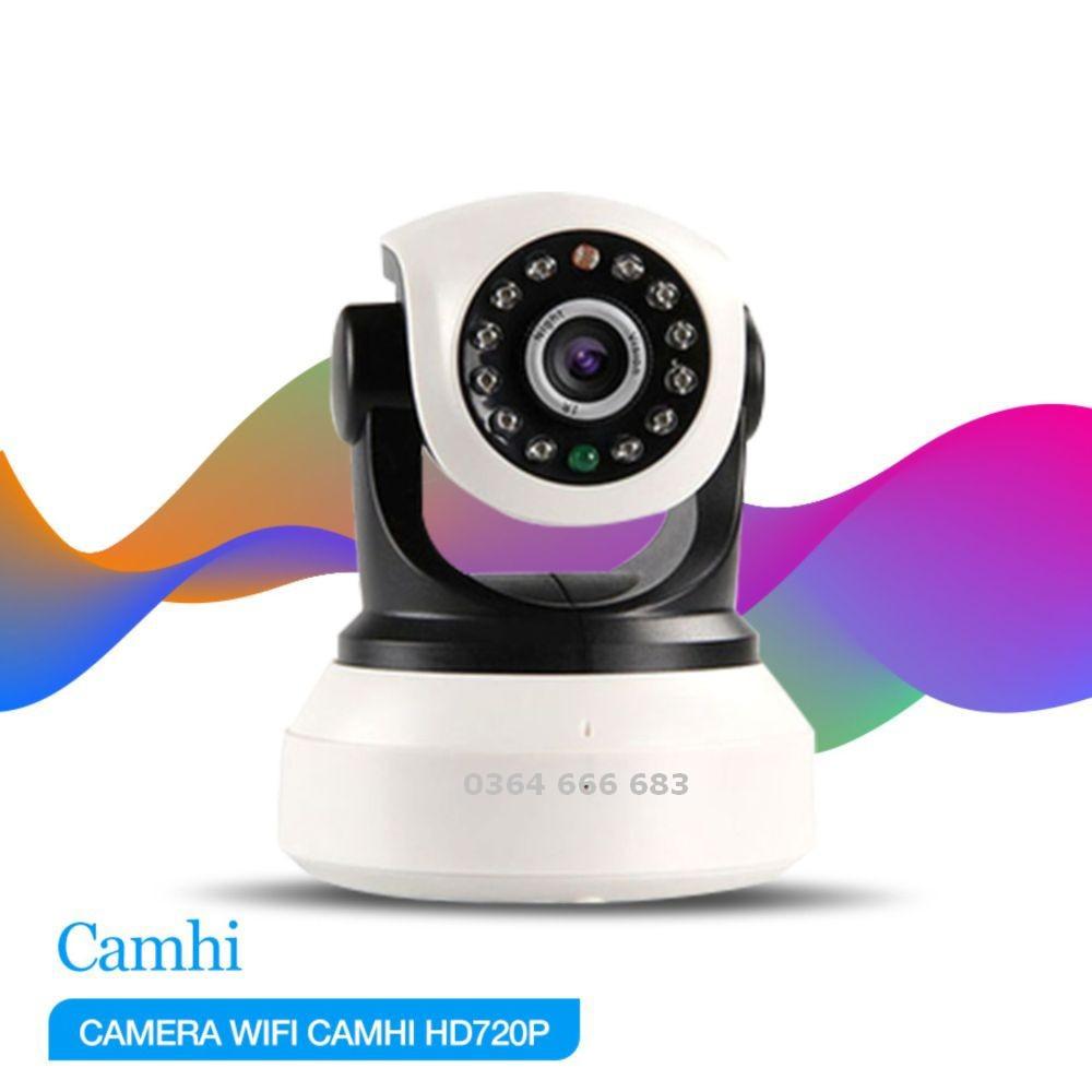 Camera WIFI Không Dây Camhi -720P Siêu Nét
