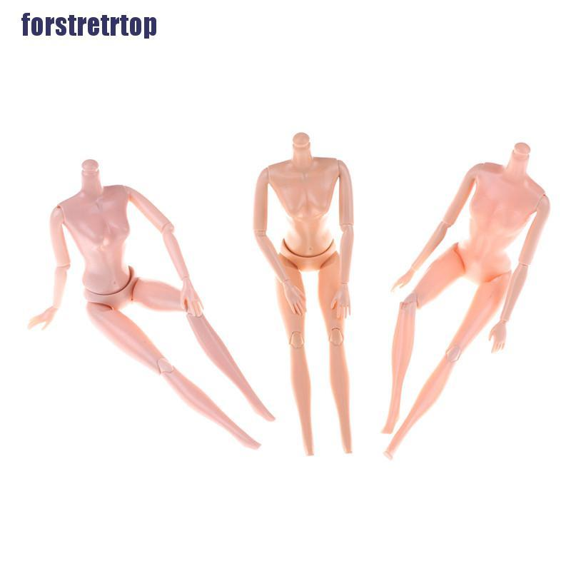 """【FSTTTOP】14/11 Jointed Movable Nude Naked Doll Body For 11"""" Doll 1/6 30cm Dol"""