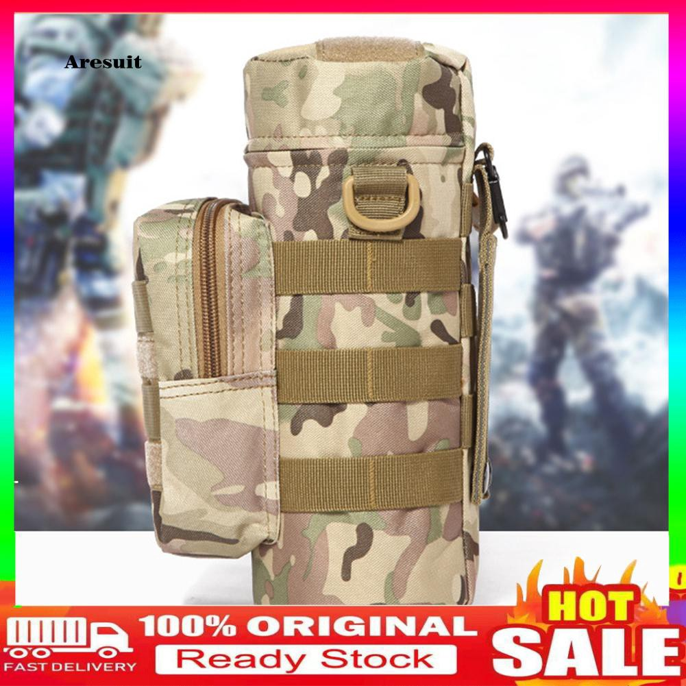 COD-Molle Outdoors Tactical Shoulder Bag Water Bottle Pouch Kettle Waist Back Pack
