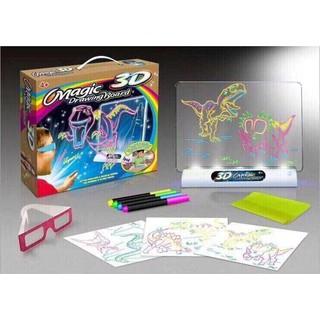 Bộ tranh màu vẽ ma thuật kèm kính Magic 3D Drawing Board