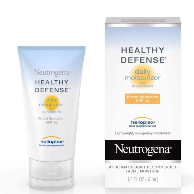 Kem dưỡng ẩm Neutrogena Healthy Defense Moistuizer SPF 30