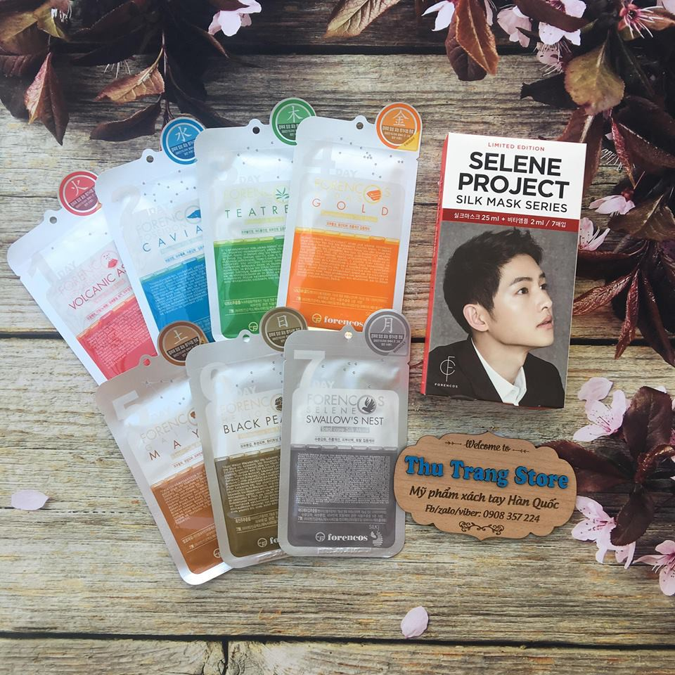 Sale Date T6/2018 - Mặt nạ Forencos Selene Project Silk Mask Series