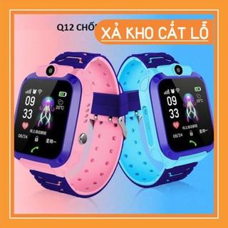 [Sẵn Hàng] Đồng hồ thông minh định vị trẻ em Q12 có tiếng việt