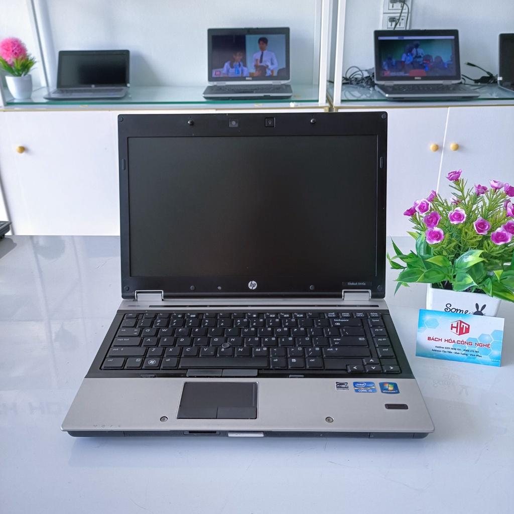 Laptop HP Elitebook 8440p I5 | 4Gb | SSD120Gb - Chuẩn quân sự Mỹ - Siêu Bền