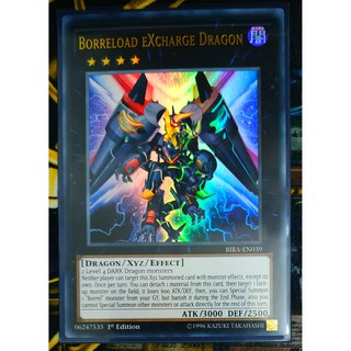 [Thẻ Yugioh] Borreload eXcharge Dragon