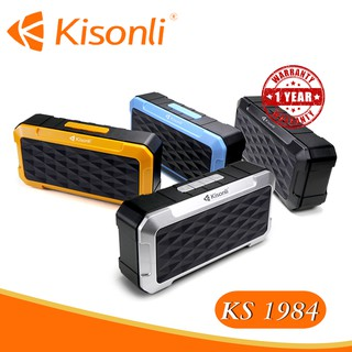 [MÀU NGẪU NHIÊN]    Loa Kisonli Bluetooth KS-1984     Nhiều màu sắc - kiểu dáng Radio độc đáo !!!!!