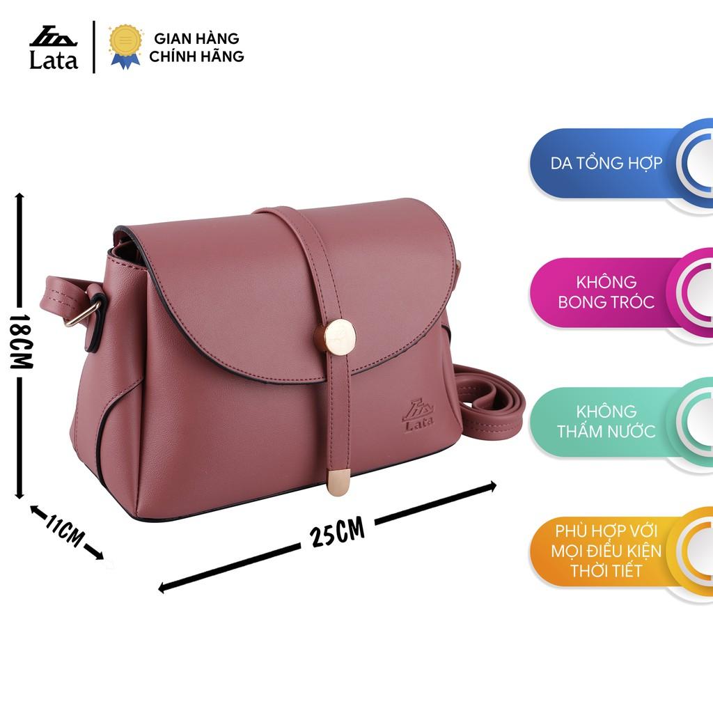 Túi đeo chéo nữ thời trang đa năng LATA HN59 nhiều màu