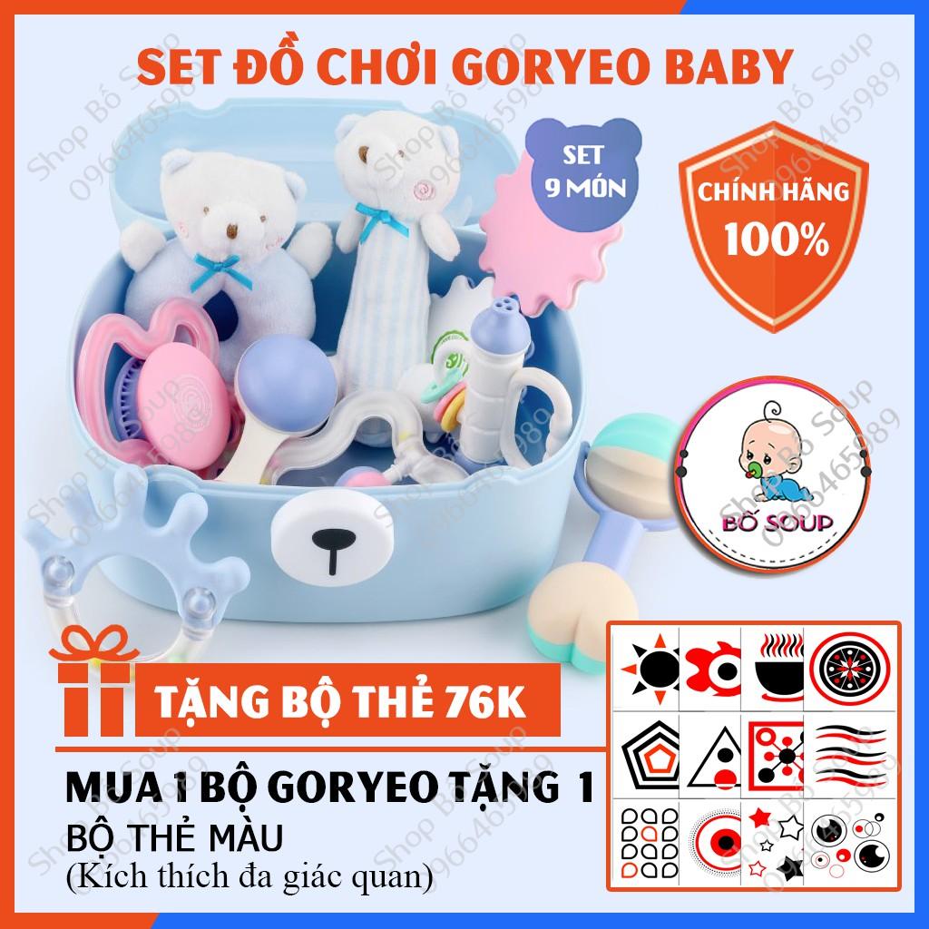 Set Đồ Chơi Xúc Xắc Goryeo Baby Hàn Quốc Có Gặm Nướu (Có Hộp) Shop Bố