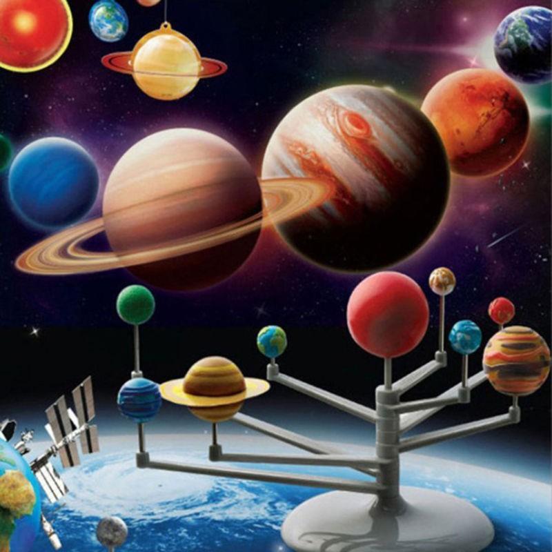 Mô hình lắp ghép hệ mặt trời dành cho trẻ em