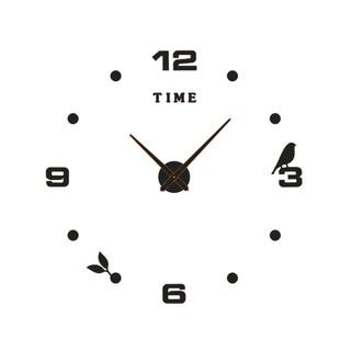 Bộ đồng hồ chữ số mica loại lớn đường kính 1.2m mẫu chim non MẪU D