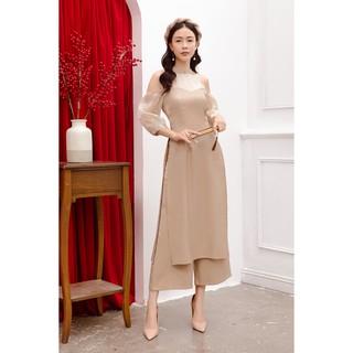 Bộ áo dài tay lửng - 20Again - BSA2881 thumbnail