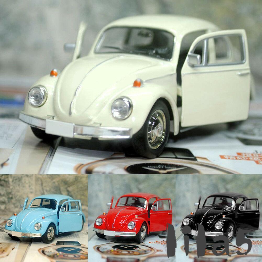 ღ☭2018 New Vintage Beetle Diecast Pull Back Car Model Toy for Children Gift Decor Cute