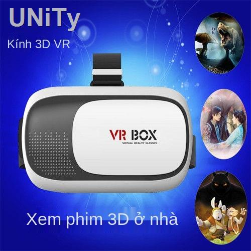 ◑✎♕Kính VR Kính âm thanh nổi 3D chơi game thực tế toàn cảnh rạp hát di động bảo vệ mắt...