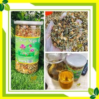 Trà sen ngũ cốc 🍃 hộp 500g 🍃 Là sự kết hợp hoàn hảo các hạt và hoa lá tự nhiên, thanh lọc cơ thể, thải độc🍃
