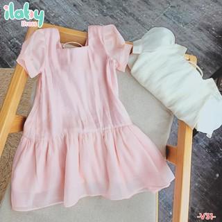 Váy cho bé gái ILABY đuôi cá dây đan [V31]