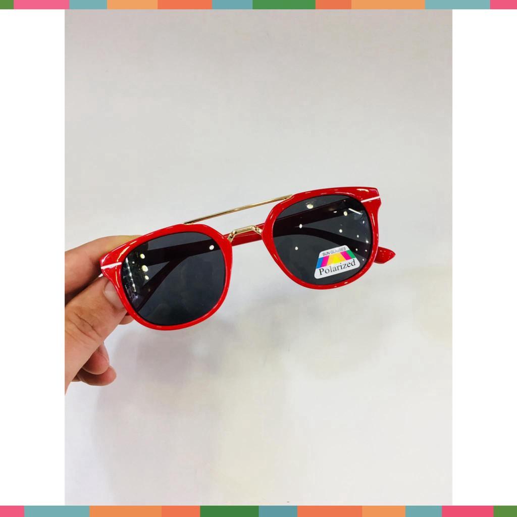 Kính mát thời trang chống tia UV cho bé, gọng kính siêu dẻo
