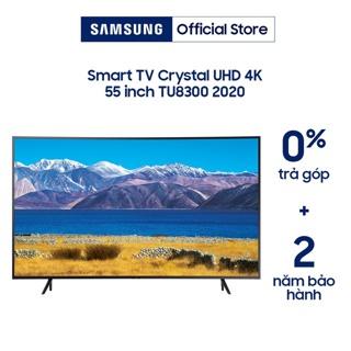"""[Mã ELSAMXMAS giảm 6% đơn 4TR5] Smart Tivi Samsung Màn Hình Cong Crystal UHD 4K 55 inch UA55TU8300KXXV (Voice sreach) giá chỉ còn <strong class=""""price"""">1.069.000.000.000đ</strong>"""