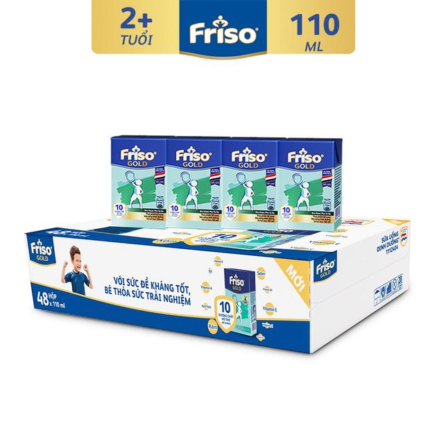 Thùng 48 hộp Sữa uống dinh dưỡng Friso Gold (110ml/hộp)