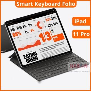 Bàn phím thông minh Apple Smart Keyboard Folio 11-inch iPad Pro Model MXNK2 Like New 99%