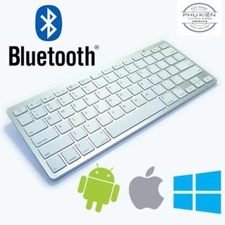 Bàn Phím Bluetooth Mini Cho iPad, Smartphone, Macbook, PC - Bàn phím không dây thumbnail