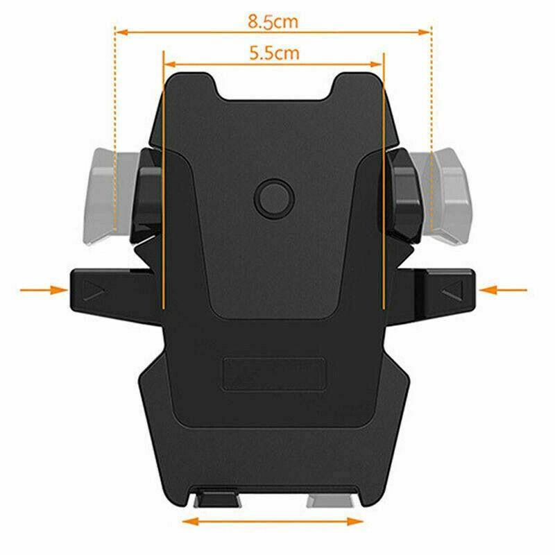 Giá đỡ điện thoại xoay 360 độ linh hoạt gắn lỗ thông khí xe hơi tiện lợi