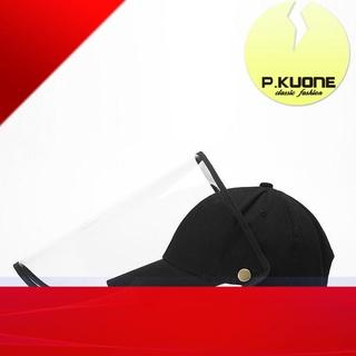 Hàng sẵn sàng FREESHIP Nón mũ có vành trong suốt chống dịch chống sương mù khói bụi bảo vệ sức khỏe người lớn trẻ em ( thumbnail