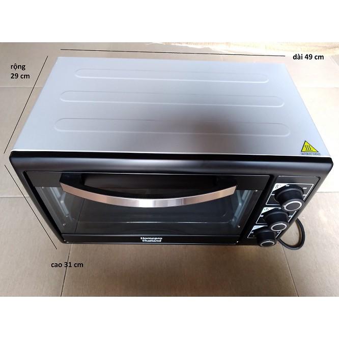 Lò nướng đa năng Homepro 30 lít