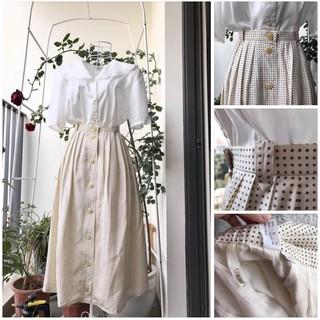 Chân váy vintage dáng Âu