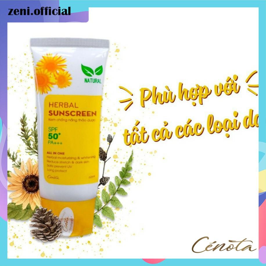Kem chống nắng thảo dược, kem chống nắng Herbal Sunscreen - CN01