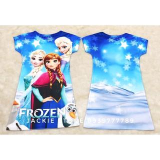 Đầm  Elsa  -Anna 3D Thái Lan