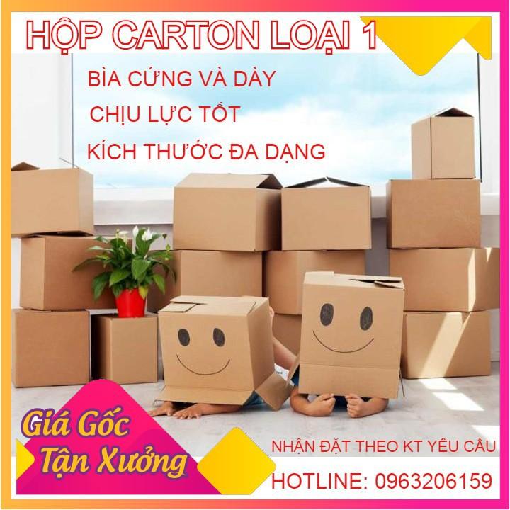 Combo 100 Hộp Carton Kích thước 11x11x8cm 💖 FREESHIP️ 💖 Hộp Carton Đóng Hàng Giá Rẻ