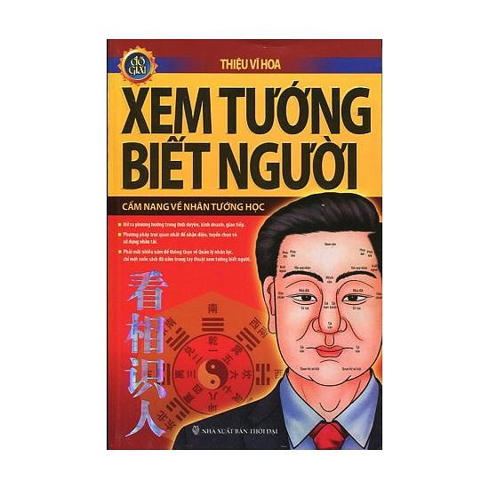 Cuốn sách Xem Tướng Biết Người - Tác giả:  Thiệu Vĩ Hoa