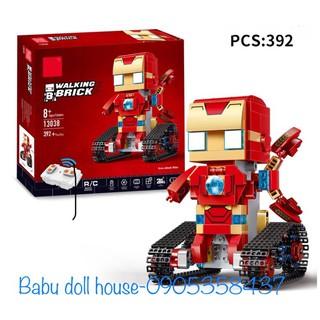 Siêu anh hùng lắp ráp kiểu Lego Technic – điều khiển từ xa Mould King