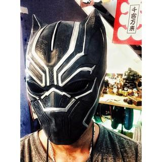 Mặt nạ cosplay Báo đen Black Panther Wakanda – chi 270k I[PD]