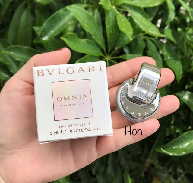 Nước hoa Bvlgari Omnia 5ml