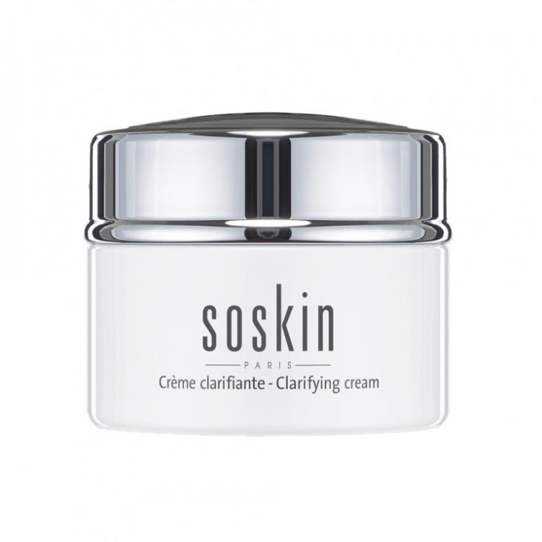 Kem dưỡng trắng da ban đêm Soskin Clarifying Cream
