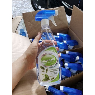 Nước rửa tay kháng khuẩn Hapicare 500ml có vòi xịt thumbnail