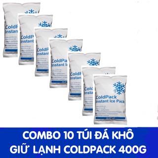 Combo 10 túi đá gel khô giữ lạnh bình trữ sữa, thực phẩm thumbnail