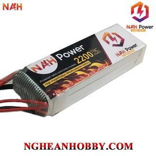 Pin Lipo 3S 11.1V 2200mAh 70C cho anh em chơi RC các loại