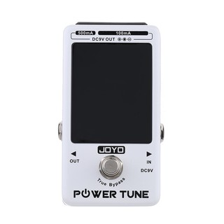 yohi2018 JOYO Power Tune True Bypass Electric Guitar Bass Tuner & 8 Port Multi-power