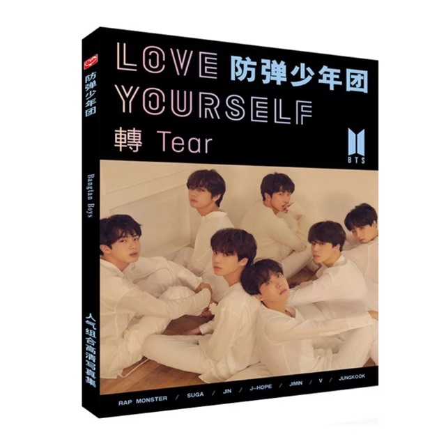 "[HÀNG mới] Photobook Love Yourself ""Tear"""