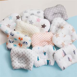 Gối bảo vệ đầu bằng cotton cho trẻ sơ sinh