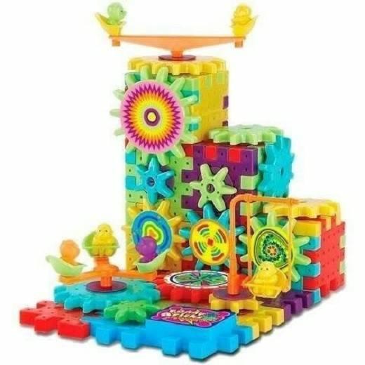 Bộ đồ chơi xếp hình chuyển động đặc biệt - phát triển tư duy cho bé