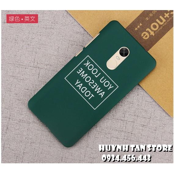 Xiaomi Redmi note 4x_ Ốp nhựa in hình (note 4 Chính hãng TGDD)