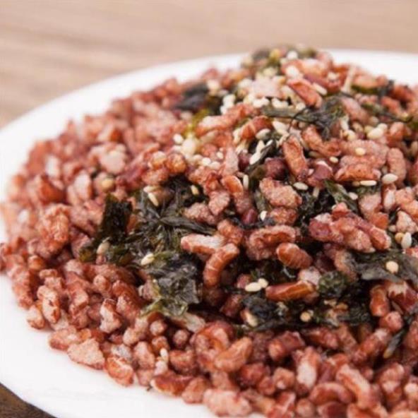 [Mã GROSALEHOT giảm 8% đơn 250K] 200g Gạo lứt sấy mix Rong biển ăn kiêng, giảm cân