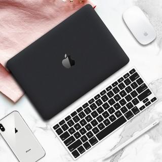 Case,Ốp Macbook Màu Đen Kèm Phủ Phím (Tặng Kèm Bộ Nút Chống Bụi & Bộ Chống Gãy Sạc) thumbnail