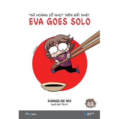 """Sách - Truyện Tranh - Eva Goes Solo - """"Nữ Hoàng Số Nhọ"""" Trên Đất Nhật - 3527824 , 1030043611 , 322_1030043611 , 83000 , Sach-Truyen-Tranh-Eva-Goes-Solo-Nu-Hoang-So-Nho-Tren-Dat-Nhat-322_1030043611 , shopee.vn , Sách - Truyện Tranh - Eva Goes Solo - """"Nữ Hoàng Số Nhọ"""" Trên Đất Nhật"""