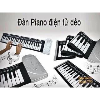 (Shop Trợ Giá) Đàn piano điện tử dẻo gấp gọn siêu hot cho bé