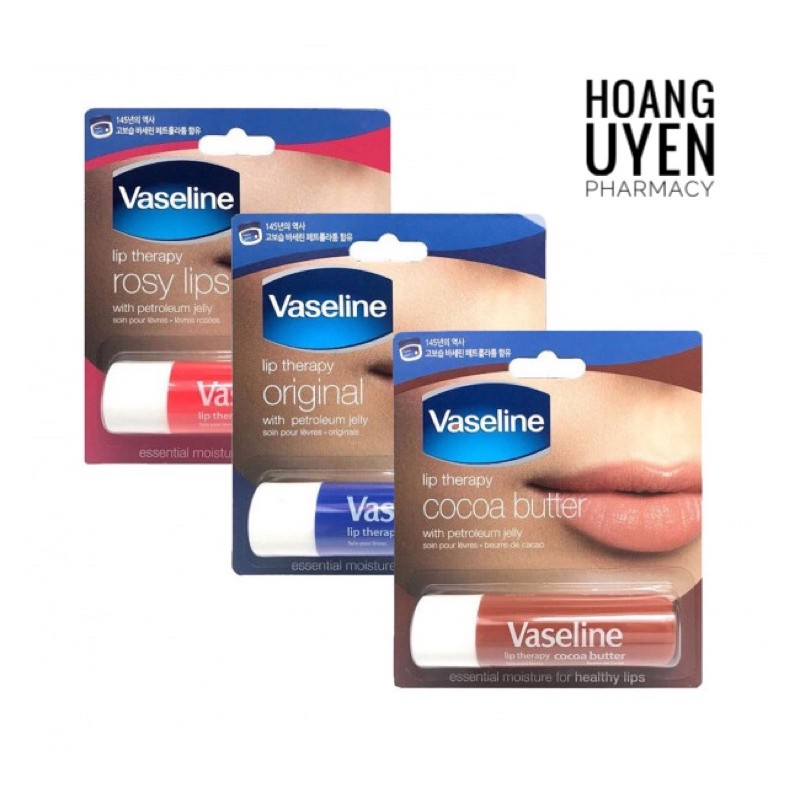 Son dưỡng môi Vaseline 4.8g - Rosy lips